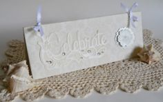Chipboard Congratulations Gift Card Cash Holder by 2HeartsDesire, $6.50  Handmade In The U.S.A.