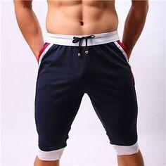 Brand Clothing Mens Board Shorts Summer Leisure Gasp Beach Shorts Men Trousers Elastic Shorts Men's Fitness Wear bermuda