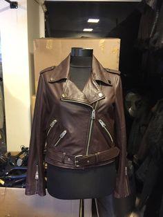 Real leather jacket ,biker mood #leonardoleather