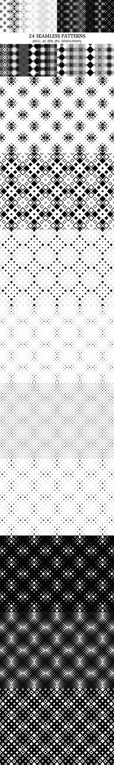 24 Seamless Square Patterns #BackgroundCollection #PremiumBackgrounds #AbstractGraphics #PremiumBackground #geometric #cheap #backgrounds #SeamlessPattern #CheapVectorBackground #squarepatterns #CheapVectorGraphics #GeometricBackground #GeometricPattern #patterns #CheapPatterns #PremiumVectorGraphicDesign #CheapPattern #CheapVectorBackground #monochrome Logo Background, Geometric Background, Background Patterns, Monochrome Pattern, Geometric Pattern Design, Square Patterns, Pattern And Decoration, Vector Pattern, School Design