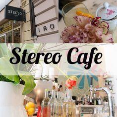 Das zentral gelegene und hippe Stereo Cafe in München nahe Odeonsplatz