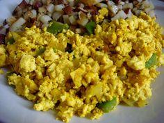 Tofu scramble #glutenfree #eggfree #vegan #breakfast