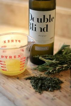 White Wine Butter Sauce with Fresh Herbs