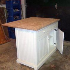 Baxton Studio Meryland White Modern Kitchen Island Cart | http ...