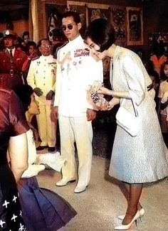 Long Live Their Majesties The King & The Queen Of Thailand
