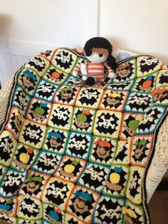 Pirate baby, Baby blankets and Pirates on Pinterest