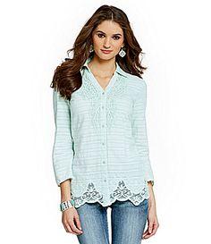 Reba New Horizons Grace Shirt #Dillards