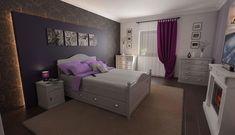 Interior Design, Bed, Furniture, Home Decor, Nest Design, Decoration Home, Home Interior Design, Stream Bed, Room Decor