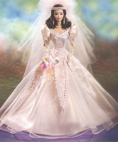 Barbie Bride dolls   ... bride and she s simply beautiful blushing orchid bride barbie doll is