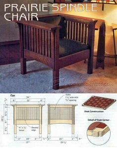 Cube Chair Plans - Furniture Plans and Projects | WoodArchivist.com