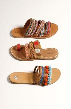 cute + fun sandals