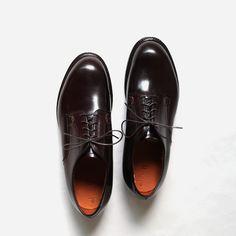 dip & Alden Plain Toe Shoes - Modified last