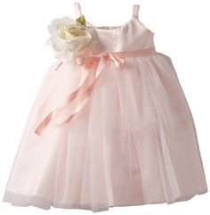 Us Angels Baby Girls Ballerina Inspired Dress Blush Pink 18 Months -- Check out this great product.