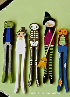 pinterest clothespin dolls   Peg, Clothespin & Spool Dolls & Crafts / Clothespin People for ...