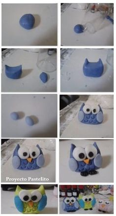 owl step by step by ivy