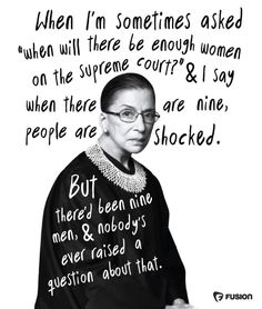 ICYMI: Ruth Bader Ginsburg turned 84 today The Notorious Ruth Nader Ginsberg. The Words, I Look To You, Signo Libra, Feminist Quotes, Feminist Art, Equality Quotes, Intersectional Feminism, Patriarchy, Strong Women