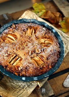 Egyszerű almás-diós süti | Street Kitchen Hungarian Cake, Poppy Cake, Top 5, Sweet Cakes, Sweet And Salty, Winter Food, Apple Pie, Mango, Food And Drink