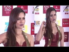 Sana Khan looks GORGEOUS at Mirchi Music Awards 2017. Sana Khan, Awards 2017, Looking Gorgeous, Music Awards, Tv, Celebrities, Youtube, Celebs, Television Set