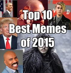 An awesome list of the top 10 best memes of 2015. And yes, Steve Harvey and his Miss Universe fail are included! LOL #funnymemes #funnymeme #funny #memes #meme