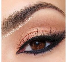 Perfect beach wedding makeup!  Hmmm-maybe vow renewals need to be on the beach!