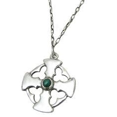 Cornwall   sterling Silver and semi precious Stone