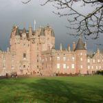 Glamis Castle from Aberdeen Scotland