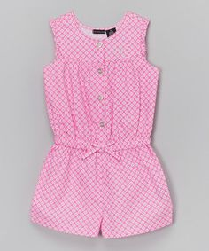 Best 12 This Pink Floral Bow Romper – Infant & Girls by Calvin Klein Jeans is perfect! Baby Girl Fashion, Kids Fashion, Little Girl Dresses, Girls Dresses, Baby Dresses, Baby Dress Patterns, Kids Frocks, Cute Dresses, Kids Outfits