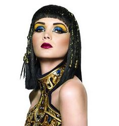 cleopatra costume, makeup, from sephora blog