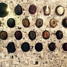 Do u need any hat? here ...u can Choose beetween a thousand ! What s your favourite One?  #marcona3 #showroom #milanofashionweek #mfw15 #mfw #hat #fashion #contreboutiques  www.contreboutiques.com
