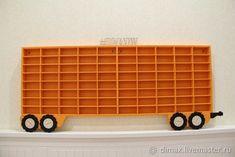 """Полка """"прицеп к грузовику"""" для хранения машинок - купить или заказать в интернет-магазине на Ярмарке Мастеров - FSS7VRU. Санкт-Петербург   Полочка """"прицеп к грузовику"""" для хранения…"""