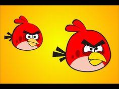 How to Draw Red Angry Bird Using CorelDraw X3, X4, X5, X6, X7 - YouTube