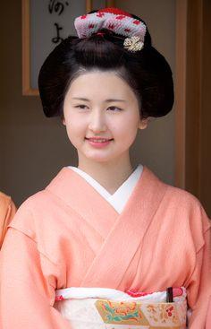 舞妓 maiko ふく乃 fukuno 宮川町 miyagawacho KYOTO JAPAN
