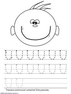 Curves Up Tracing Practice Line Tracing Worksheets, Alphabet Worksheets, Preschool Worksheets, Kids Activity Books, Activities For Kids, Prewriting Skills, Kindergarten Special Education, Alphabet Board, Printing Practice