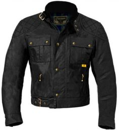 2672cf2b476 Claymore Motorcycle Jacket, made in the UK. Authentic vintage wax cotton  style, and