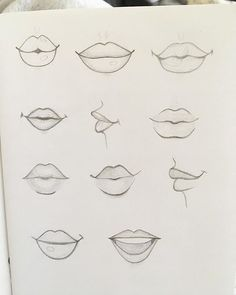 Drawing mouth It's so cute!