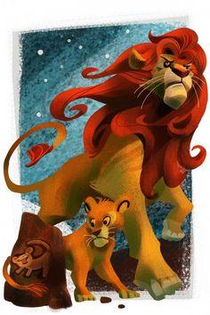 """#Leão * #Lion ♡ """"O Rei Leão"""" * Disney Cast: Felídeos da Disney - Parte 2                                                                                                                                                                                 Mais"""