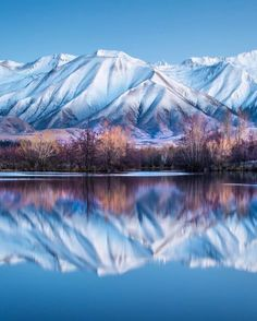 Twizel, New Zealand photo by Brent Purcell. Good reflection photos look so easy to achieve, but their not. All Nature, Amazing Nature, Voyage Hawaii, Places Around The World, Around The Worlds, Beautiful World, Beautiful Places, Landscape Photography, Nature Photography