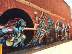 Street art, CBD Adelaïde