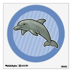 Purchase yourself a bunch of Dolphin wall decals from Zazzle! Our wall stickers are great for any room in your home or office! Wall Stickers, Wall Decals, Bottlenose Dolphin, Animal Room, Dolphins, Room Decor, Animals, Wall Clings, Animales