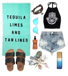 """Brazilian Beach"" by macaneia on Polyvore featuring One Teaspoon, Billabong, Hawaiian Tropic, Michael Kors, Alterna and Bling Jewelry"