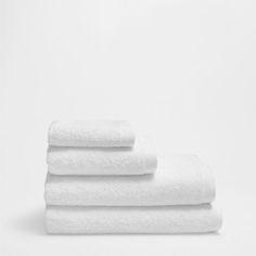 TOALLA BÁSICA Zara Home España, White Towels, Bathroom, Home, Towels, Washroom, Full Bath, Bath, Bathrooms