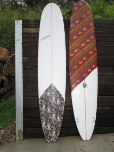 Sunshine Coast surfboard art, design, tints, resin, surfboard sprays