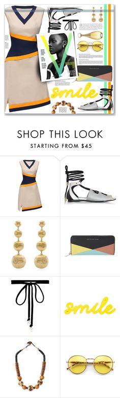 """""""Colors"""" by cowseatchard ❤ liked on Polyvore featuring Lattori, Vionnet, Marco Bicego, Marc by Marc Jacobs, Joomi Lim, NOVICA, Wildfox and Christian Dior"""