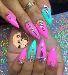 Baby Shower nails for my boo @makeupsylvia nail game always on another level