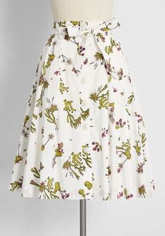 New Arrival Dresses and Clothing for Women | ModCloth New Arrival Dress, Swing Skirt, Cute Skirts, Poplin Fabric, Modcloth, No Time For Me, Beautiful Dresses, Vintage Inspired, Midi Skirt