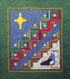 Nativity quilt by Michele Bilyeu of With Heart and Hands