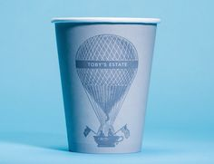 A Collection Of Surprisingly Good-Looking Disposable Coffee Cups Found In NYC - DesignTAXI.com