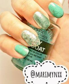 Mari ~ kpop to nail art☕ (@marimynxx) • Instagram photos...  Products used: @sinfulcolors_official #smokeandmirrors @lacolorscosmetics #julep @officialpureice #dazzleme  #manicure #aqua #glitter #drybrush #newbie #nailart #naildesign #mixandmatch #metalic #sinfulcolors #lacolors #kleancolor #chunkysilver #maricure
