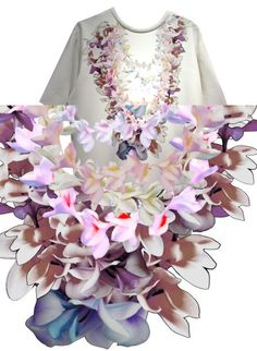 "Cynthia Rowley ""Lei""  Fashion's Mood Board: 183 Designer Inspirations for Spring 2014 - The Cut One Word One Shot Spring 2014"