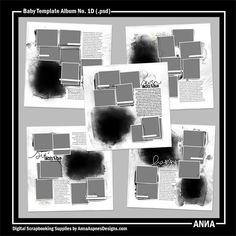 Baby Template Album No. 1D